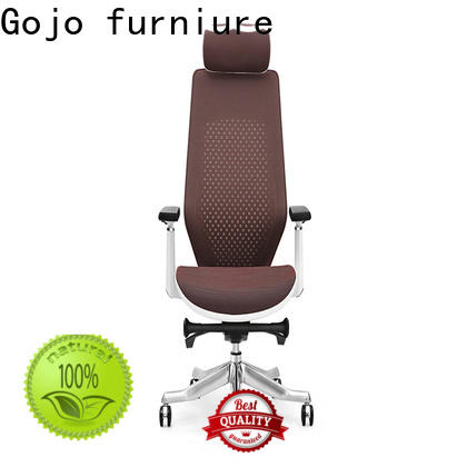 Gojo furniure comfortable genuine leather office chair factory for reception area