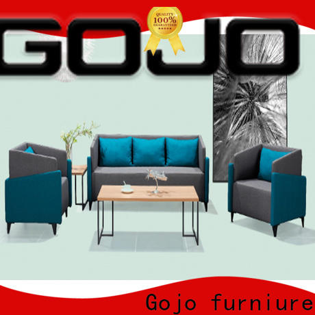 Gojo furniure waiting thin couch side table company for executive office