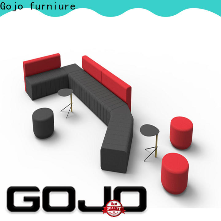 Gojo furniure low small couch end tables Supply for executive office