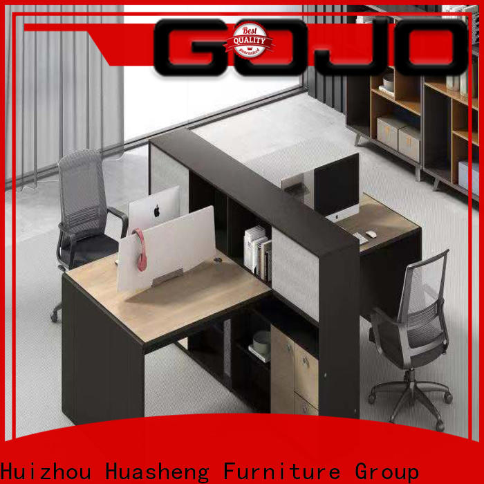 Gojo furniure luno office work table factory for reception area