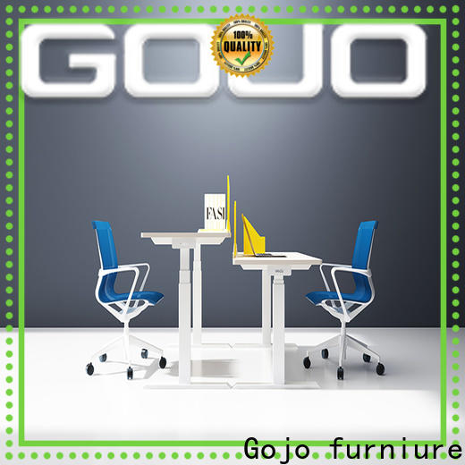 Gojo furniure flex brown office table Suppliers for lounge area