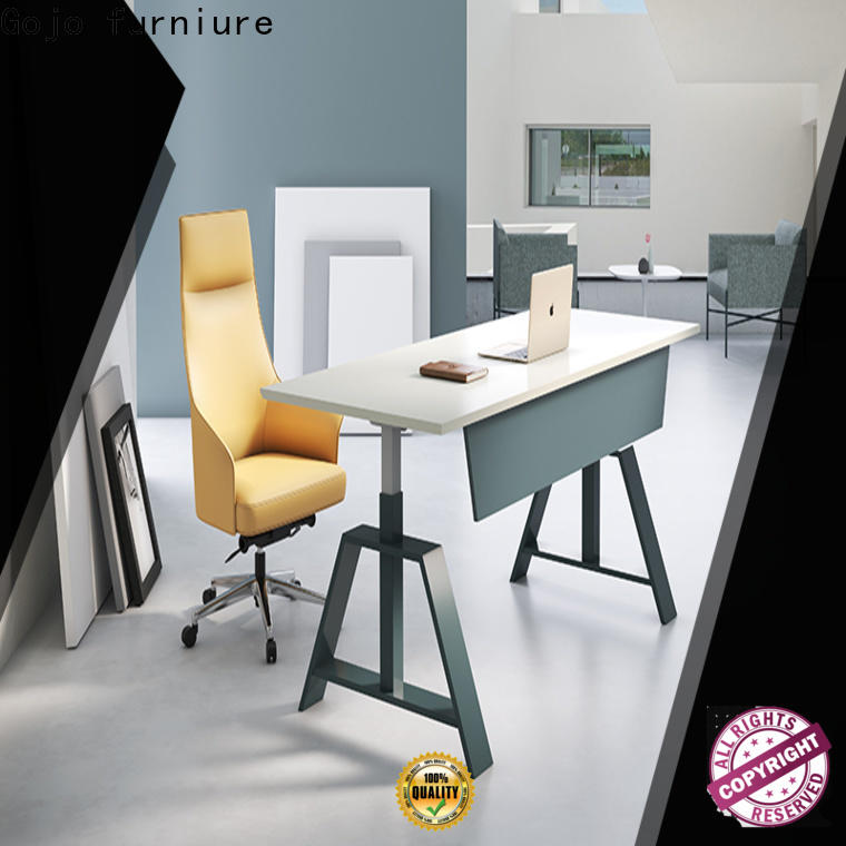 Gojo furniure modern tall office work table for business for reception area