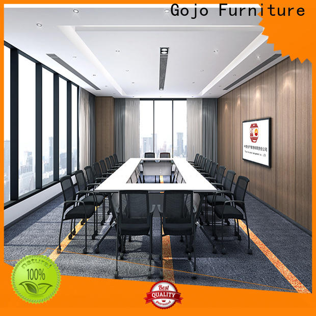 Gojo furniure Custom modular conference room tables company for guest room