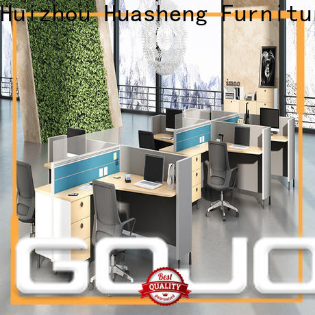 Gojo furniure best white office table Suppliers for reception area