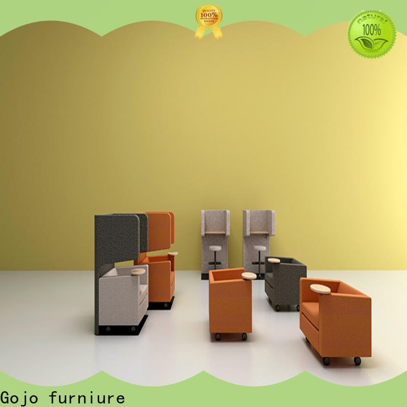 Gojo furniure modern coffee table for l shaped sofa Supply for boardroom