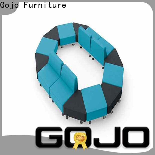 Gojo furniure Custom coffee table for two couches company for executive office