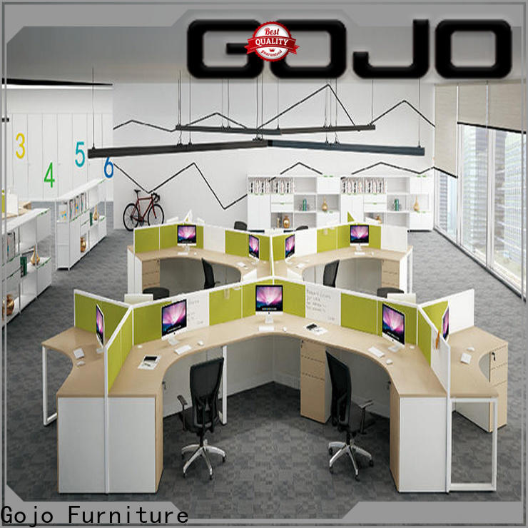 modern sit stand office desk wooden Supply for reception area