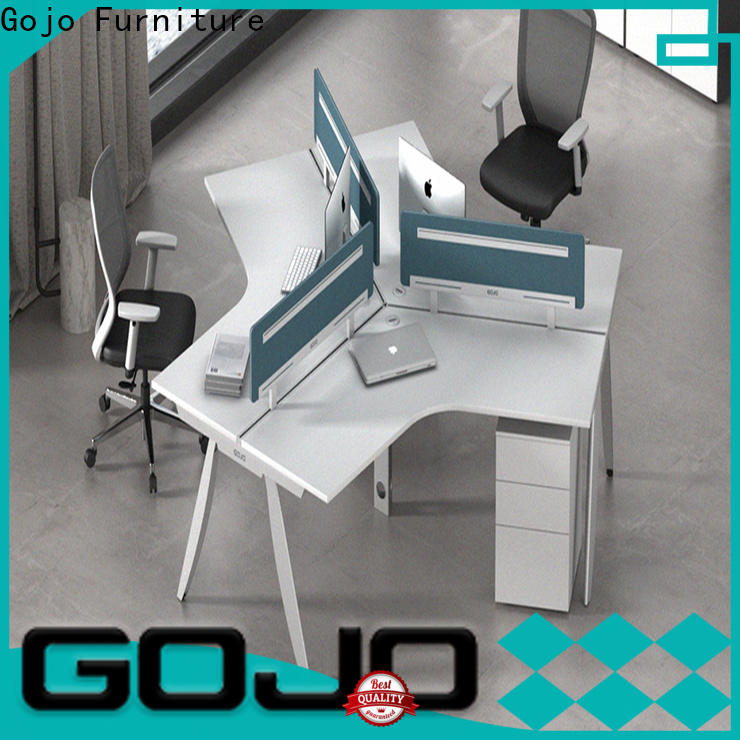 Gojo furniure customized open office workstation for business for reception area