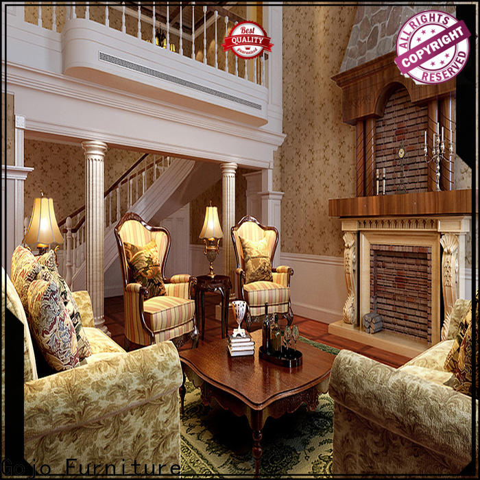Gojo Furniture chairs five star hotel furniture sale factory for lounge area