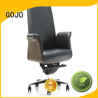 roomy top rated executive office chairs with lumbar support for boardroom GOJO