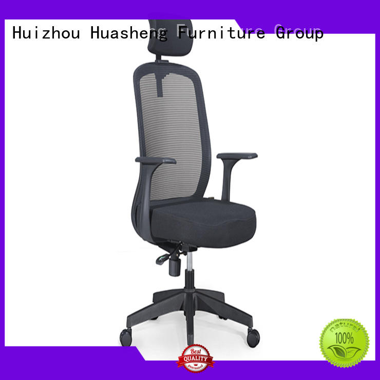 GOJO mesh executive chair with new white paint feet for executive office