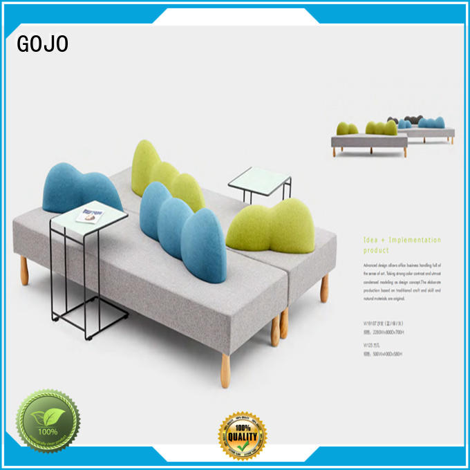 GOJO quiet lounge sofa set manufacturer for guest room
