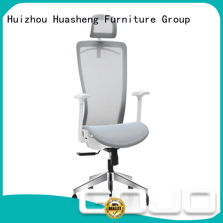 GOJO Top executive chair with lumbar support for boardroom