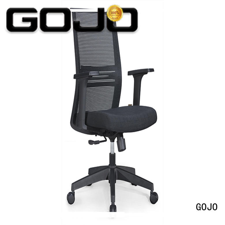 swivel desk chair with arms for executive office GOJO