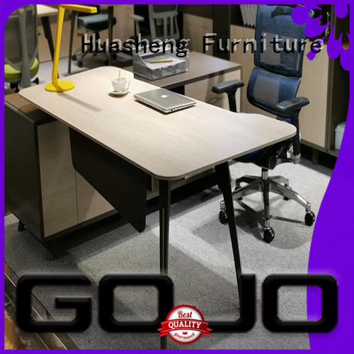 GOJO high end executive office furniture with side lock drawer for sale