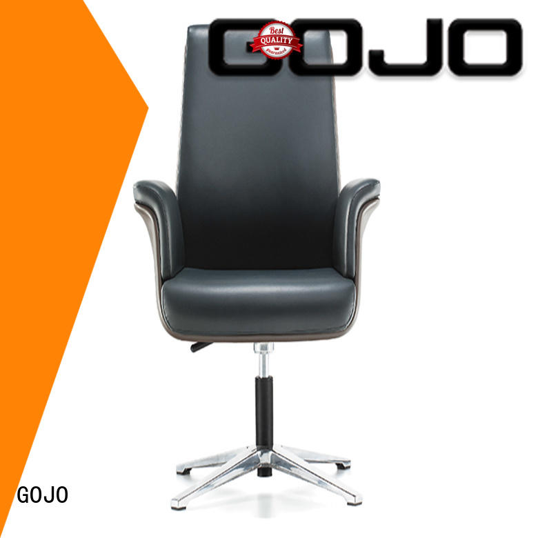 GOJO modern conference table chairs with casters for conference area