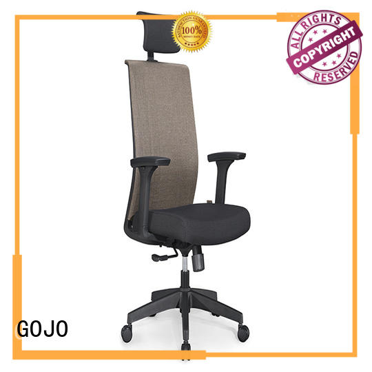 symbol modern executive office chair with aluminium alloy feet for boardroom