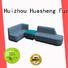 leather leather sofa set wood for guest room GOJO
