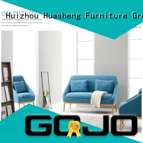GOJO flex sofa and chair set stools for lounge area