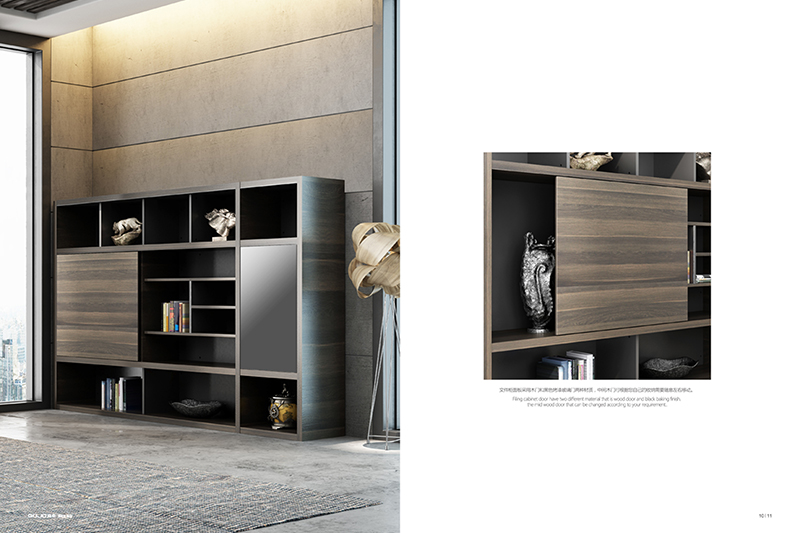 GOJO file cabinet furniture with layer for ceo office-1