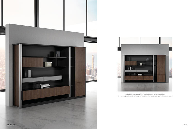 Wood File Cabinet SYMBOL FILE CABINET