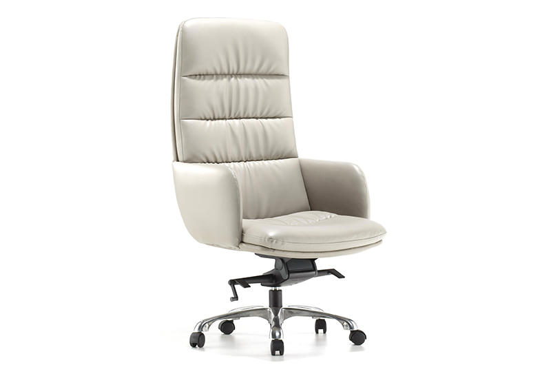 Real Leather Office Chair BINZ OFFICE CHAIR