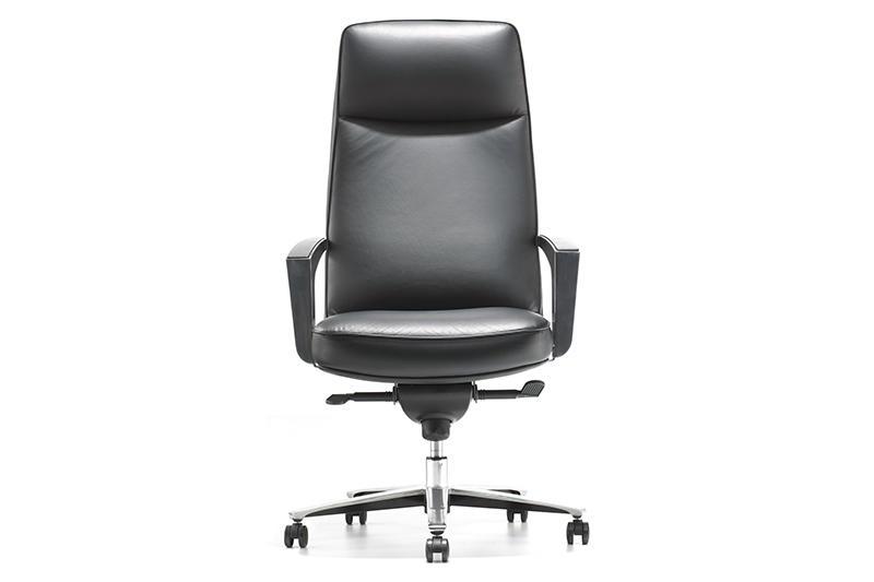 High Back Leather Chair ROOMY OFFICE CHAIR