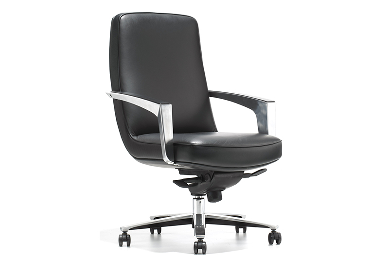 flex best executive chair with new white paint feet for boardroom-1