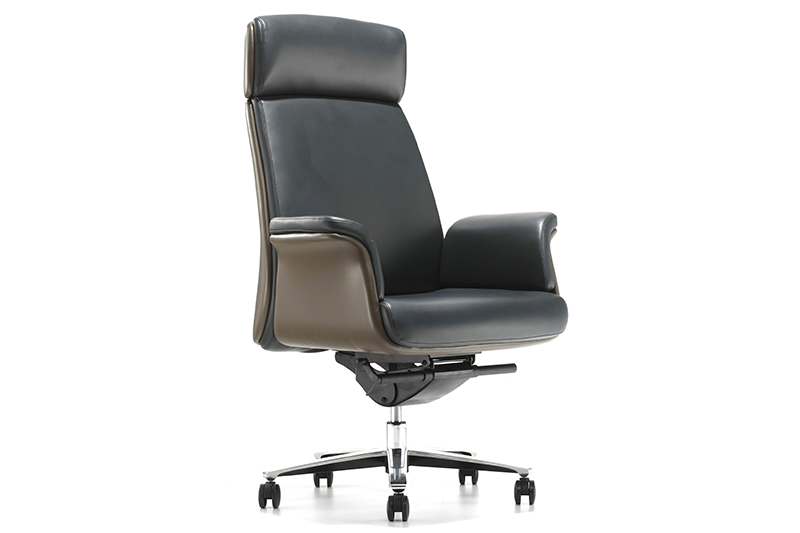 New luxury leather office chair boardroom manufacturers for reception area-1