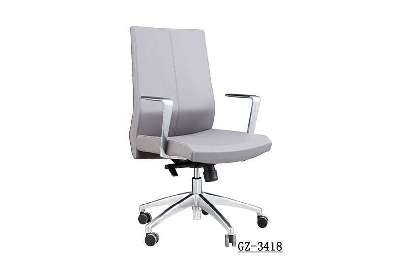 GOJO high end luxury office chair with aluminium foot for executive office-1