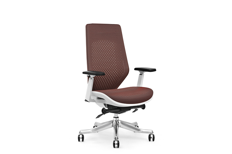mesh office chair with lumbar support for boardroom GOJO-1
