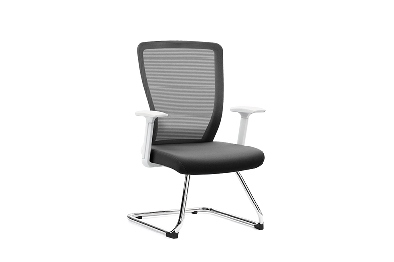 flex executive office chair with new white paint feet for boardroom-1