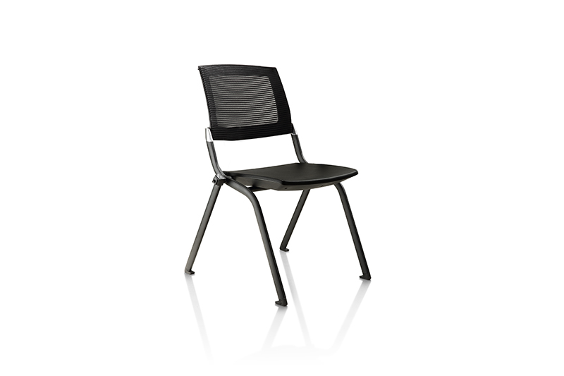 modern stacking chairs with arms for ceo office-1