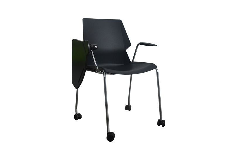 black lounge chair for reception area GOJO-1
