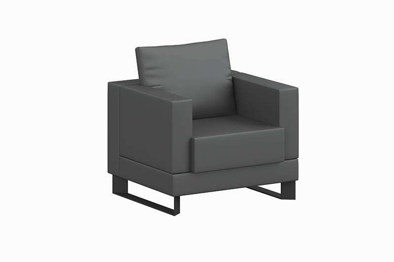 GOJO small reception sofa chairs stools for guest room-3