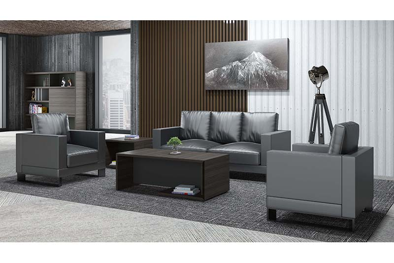 GOJO leather waiting room furniture for lounge area-2