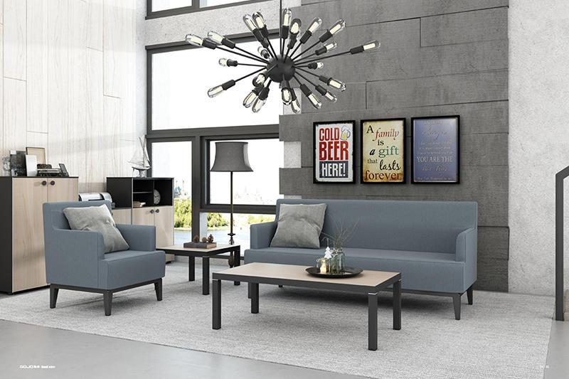 Custom Waiting Room Sofa SMALL RECEPTION SOFA