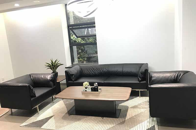 Leather Furniture Set WINA RECEPTION SOFA