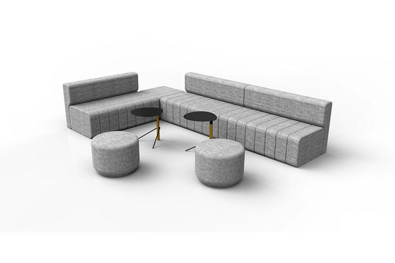 GOJO LOUNGE RECEPTION SOFA Custom Lounge Sofa Set