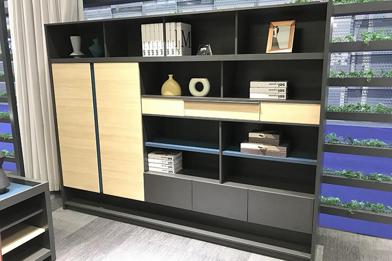 room divider cabinets bookshelf for sale GOJO-2