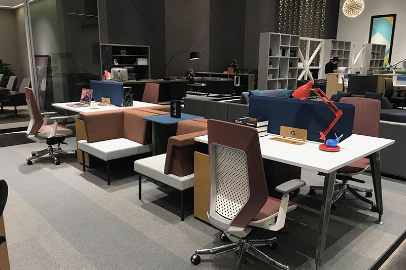 Long Office Table FLEX STAFF OFFICE DESK