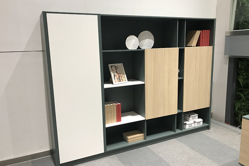 GOJO Latest bookshelf room divider with door for sale-2