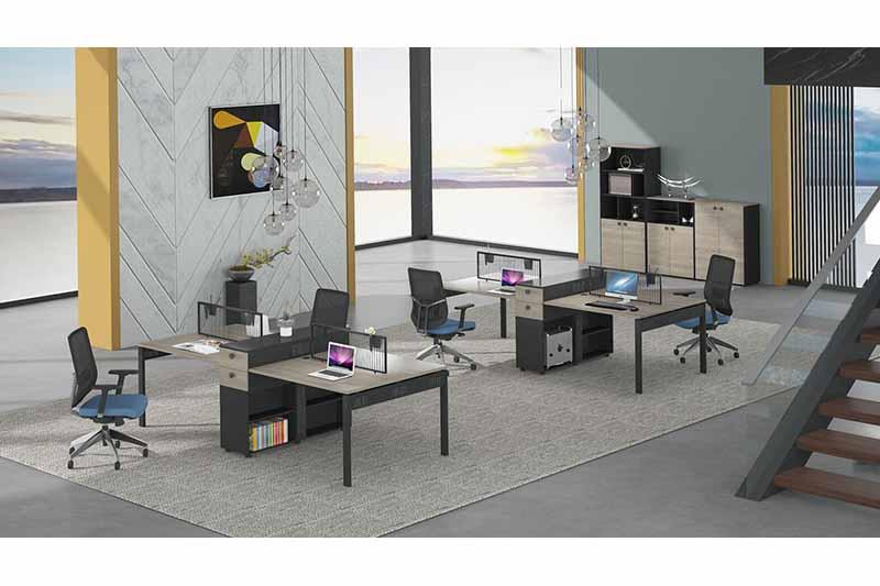 Gojo furniure brand office staff table factory for reception area-2
