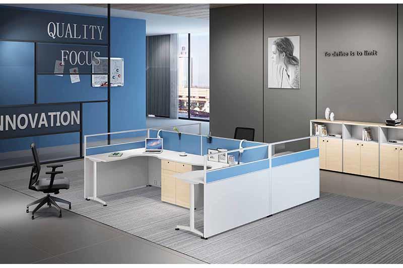 Desk Partition Screens GOGO aluminium alloy frame