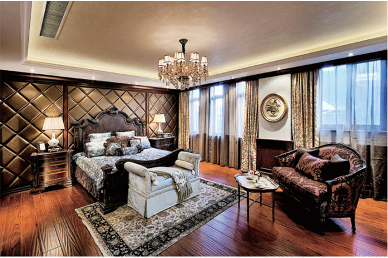 High-end Villa Furniture Hotel Bedroom Chairs