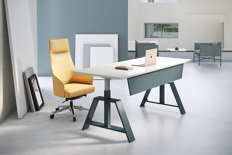 customized adjustable standing desk sit stand desks for executive office-1