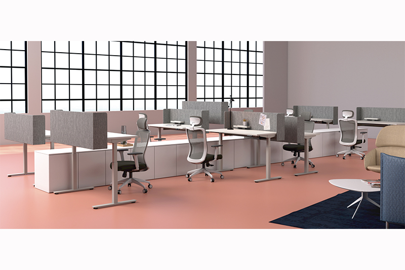 GOJO customized modern office desk manufacturers for staff room-1