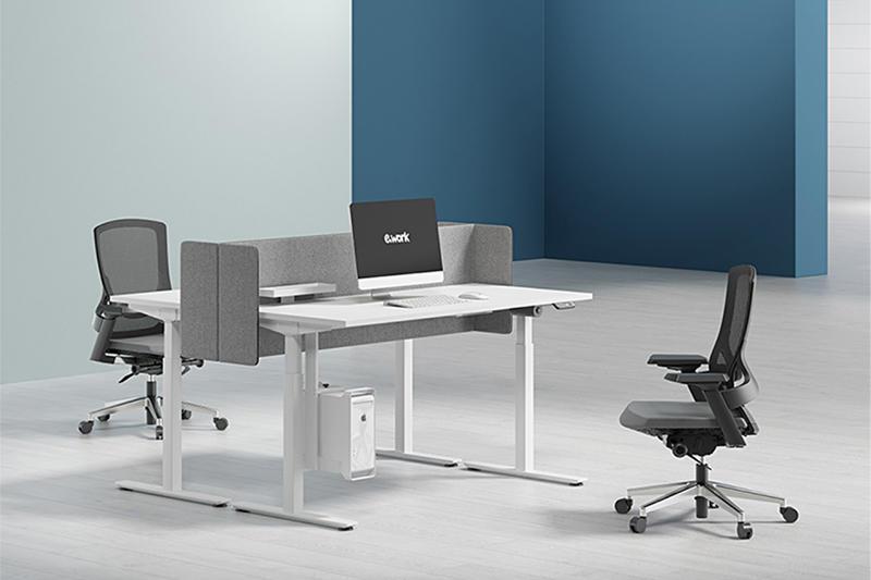 Modern Adjustable Office Furniture sit to stand desks