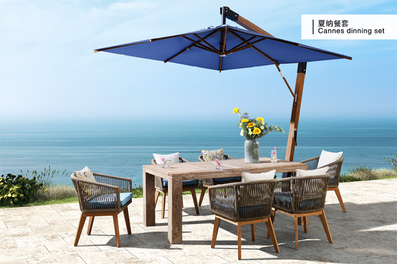 modern balcony furniture factory for holiday hotels-3