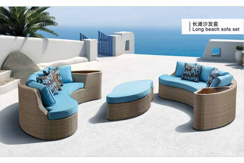 Custom best outdoor furniture for open or semiopen space-1